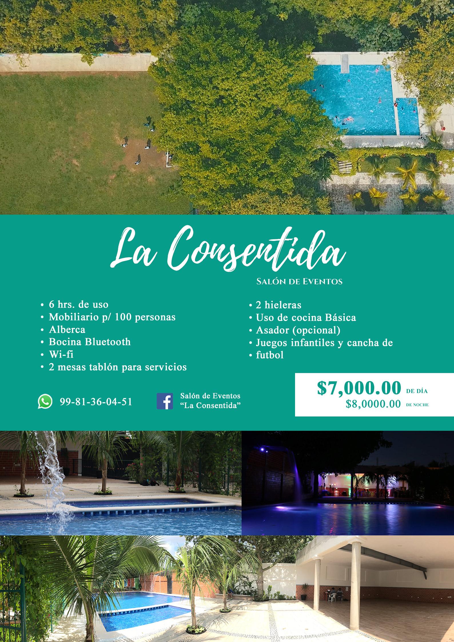 La consentida salón de fiestas en Cancún